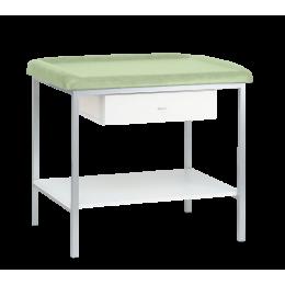 Table de pédiatrie avec tiroir et plateau inférieur Carina