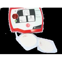 Electrodes jetables adultes avec câble pour défibrillateur Rescue Sam (kit de 2)