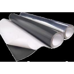 Rouleau de plomb adhésif laqué gris