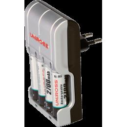 Kit chargeur + 4 piles rechargeables pour Primo et Peristim Pro, Rehab X2 et Myo XT