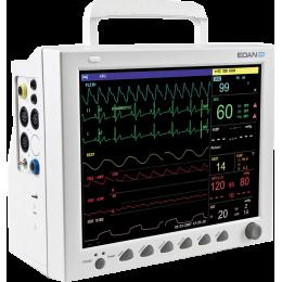 Moniteur patient multiparamétrique EDAN iM8 (PNI, SpO2, Temp., Resp., ECG)