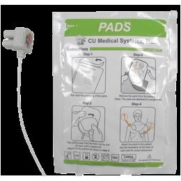 Electrodes adultes pour défibrillateurs IPAD Def-NSI