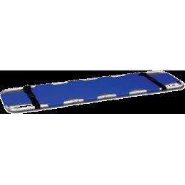 Brancard bleu - pliable en 2