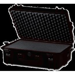Valise rigide IP67 avec mousse - moyenne - noire