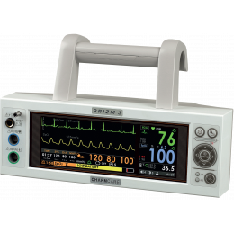 Moniteur patient multiparamétrique Charmcare Prizm 3 Color (PNI, SpO2, Temp., ECG)