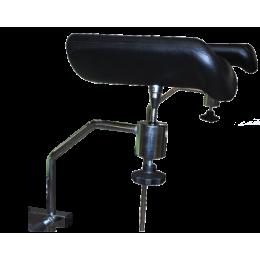 Paire de repose-jambes en polyuréthane sur rotule pour divan ou fauteuil d'examen Vog Médical