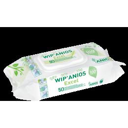 Lingettes Wip'anios Excel (sachet 50)