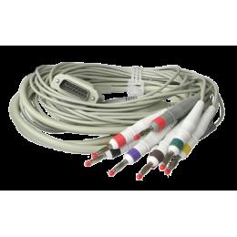 Câble patient pour ECG Colson