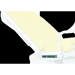 Rail inox sur assise pour fauteuil Promotal Elite