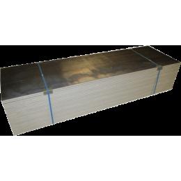 Plaques de plâtre BA13 Knauf hydrofuges plombées (format 2500 x 600 mm)