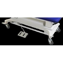 Jeu de 4 roulettes avec blocage centralisé pour divan d'examen Vog Médical Licata