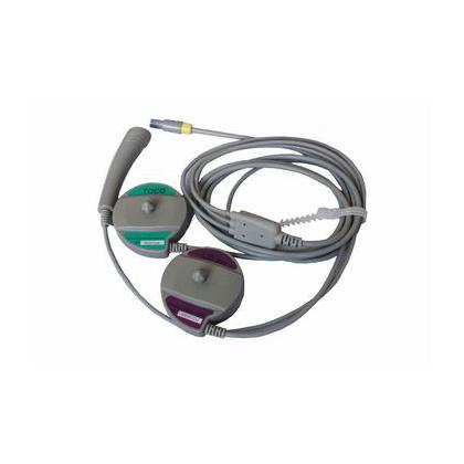 Capteur 3 en 1 FHR1-TOCO-FM pour moniteur foetal Luckcome Leto 8