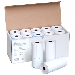 """Papier thermique pour spiromètre Spirolab III et Spirolab 7""""(10 rouleaux)"""