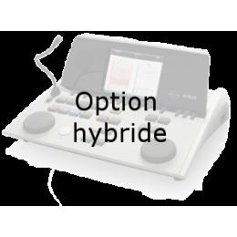 Option hybride pour audiomètre AD629 pour pilotage via PC