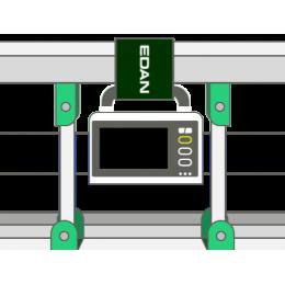 Accroche pour lit médicalisé pour moniteur patient multiparamétrique Edan iM20