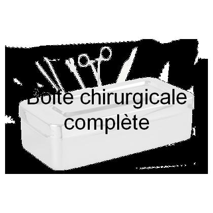 Boîte pour ablation des broches