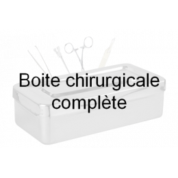 Boîte pour chirurgie vasculaire