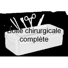 Boîte pour trachéotomie + canules