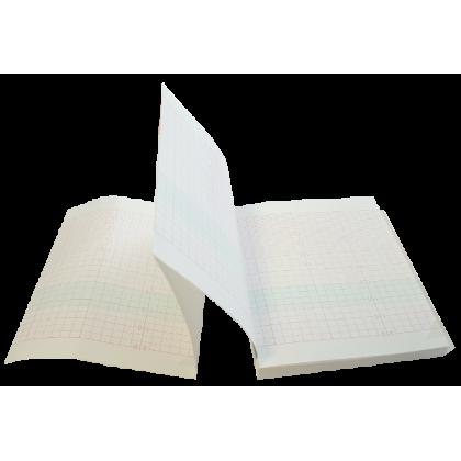 Papier pour cardiotocographe LETO 9 - Echelle 30 BPM (10 liasses)