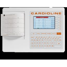 Electrocardiographe ECG Cardioline 100S (6 pistes) avec option interprétation offerte