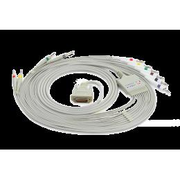 Câble patient pour ECG Edan