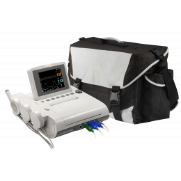 Cardiotocographe / Moniteur foetal gémellaire Edan F3 + VCT, sacoche offerte !