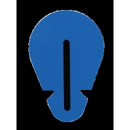 Electrodes ECG rondes à languette Blue Sensor SU-00-C Ambu (lot de 1200)