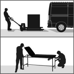 Prestation installation L pour mobilier de 150Kg à 200Kg