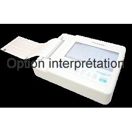 Option interprétation pour ECG Fukuda FX-8200 CardiMax (6 pistes)