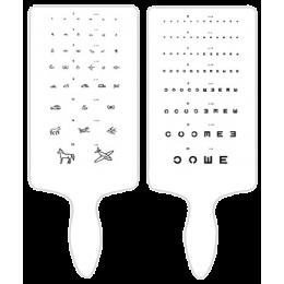 *Test de vision de près pour illettrés - méthode Parinaud