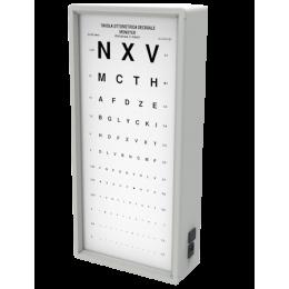 Tableau optométrique Monoyer (3 mètres)