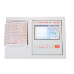 Electrocardiographe ECG Cardioline 100L (3/6 pistes) avec interprétation