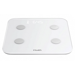 Pèse-personne électronique iHealth HS6 avec bluetooth (Compatible uniquement iOs)