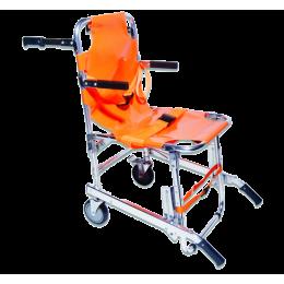 Chaise portoir d'évacuation PVS 2 roues