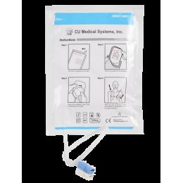 Electrodes adultes pour défibrillateur I-PAD (la paire)