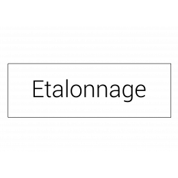 Etalonnage pour audiomètre Electronica