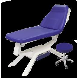 Divan d'examen électrique Promotal iQuest Lounge (2 moteurs) + 1 tabouret offert - BIGDEAL