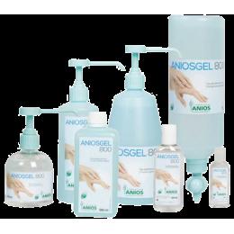 Gel hydroalcoolique professionnel Aniosgel 800