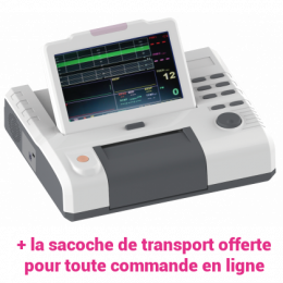 Cardiotocographe / Moniteur foetal gémellaire Luckcome Leto 8 avec VCT